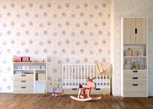 Tapet pentru camera copiilor - netesut crem cu Winnie the Pooh - Walt Disney2