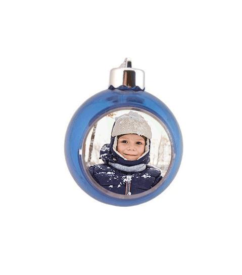 Glob albastru personalizat cu poza sau mesaj 0