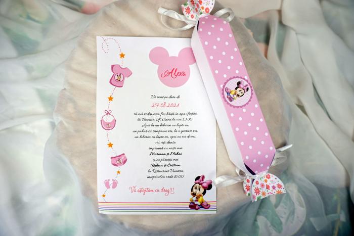 Invitatie de botez Pink Candy [1]