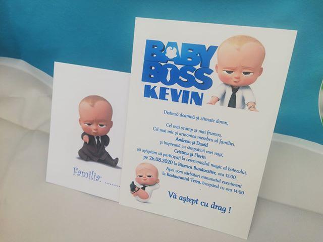 Invitatie de botez Baby Boss [0]