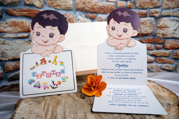 Invitatie de botez 180038 - Baietel [0]