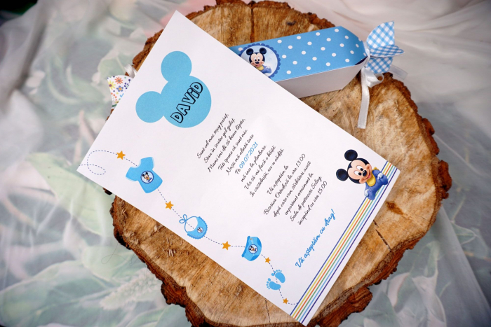 Invitatie de botez Blue Candy [1]