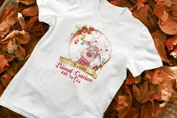 "Set tricouri familie ""Primul Craciun ca sot / sotie"" 1"
