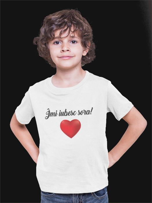 Tricou pentru copii personalizat - Imi iubesc sora [0]