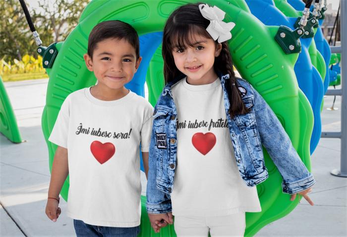 Tricou pentru copii personalizat - Imi iubesc sora [1]