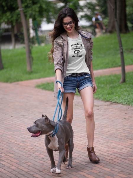 Tricou Personalizat - Asa arata o iubitoare de CAINI 4