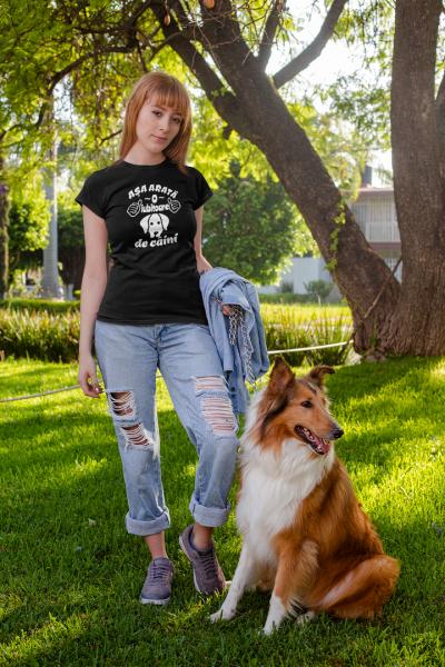 Tricou Personalizat - Asa arata o iubitoare de CAINI 6