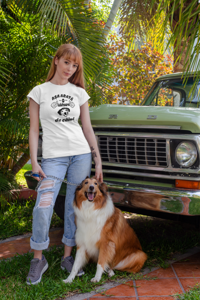 Tricou Personalizat - Asa arata o iubitoare de CAINI 2