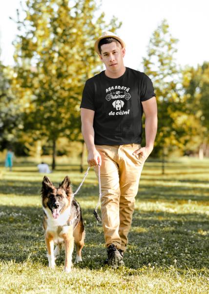 Tricou Personalizat - Asa arata o iubitoare de CAINI 3