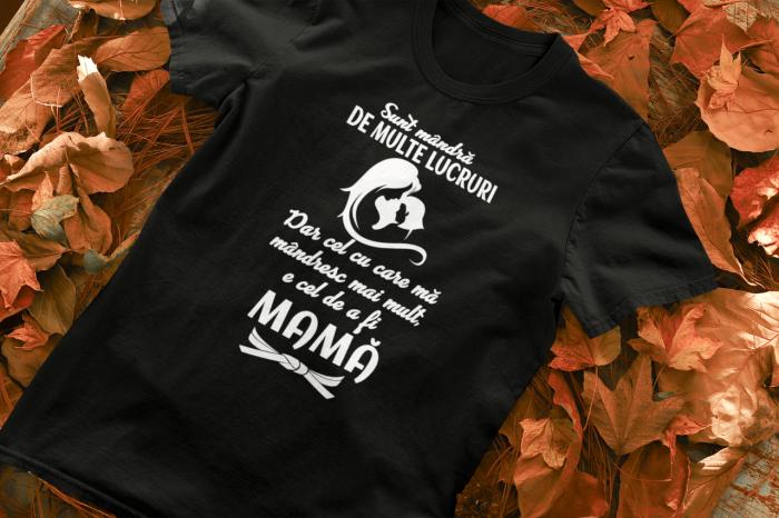 Tricou Personalizat - Sunt mândă că sunt mamă [1]