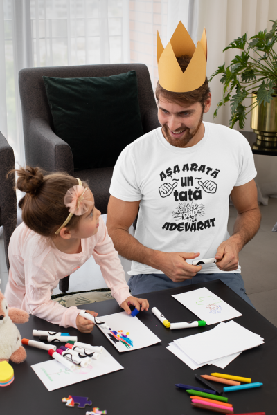 Tricou Personalizat - Asa arata un tata adevarat 2
