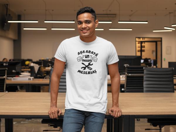 Tricou Personalizat - Asa arata un mecanic meserias 2