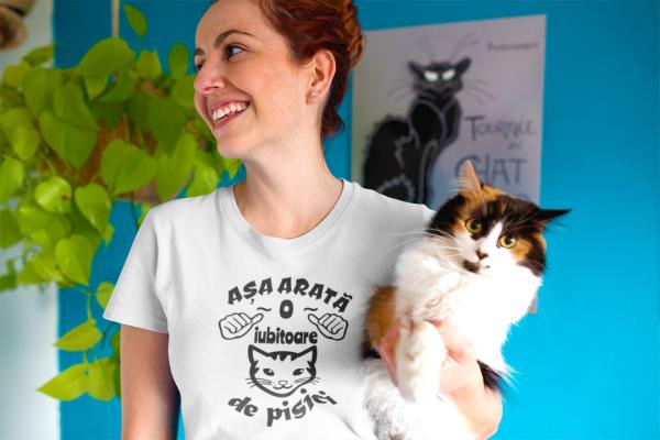 Tricou Personalizat - Asa arata o iubitoare de PISICI [4]