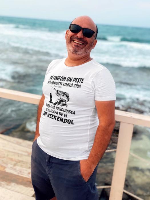Tricou personalizat cu mesaj - Pescar 1 [0]