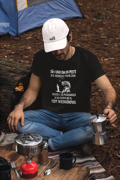 Tricou personalizat cu mesaj - Pescar 1 [1]