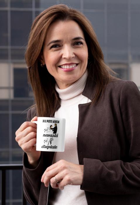 Tricou personalizat cu mesaj - Nu poti avea si nevasta si dreptate [1]