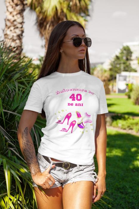 Tricou personalizat - Aniversare la ... ani [0]
