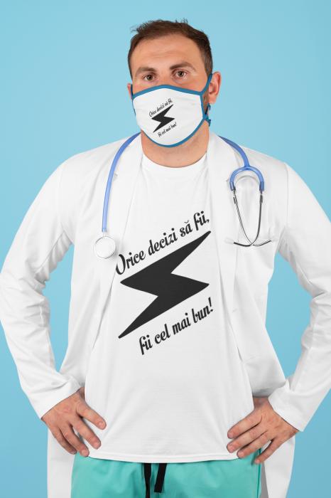 Tricou personalizat cu mesaj - Fii cel mai bun 0