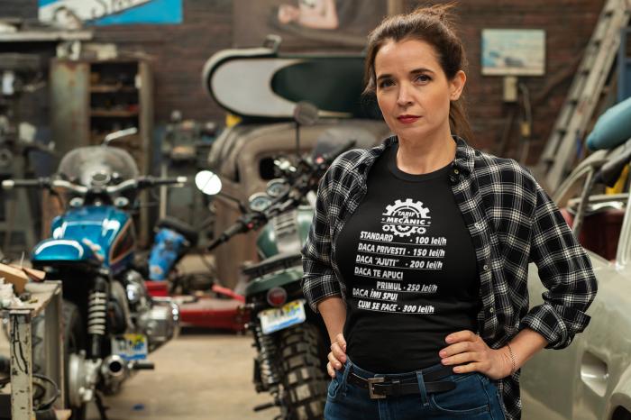 Tricou personalizat cu mesaj - Tarif de mecanic [3]