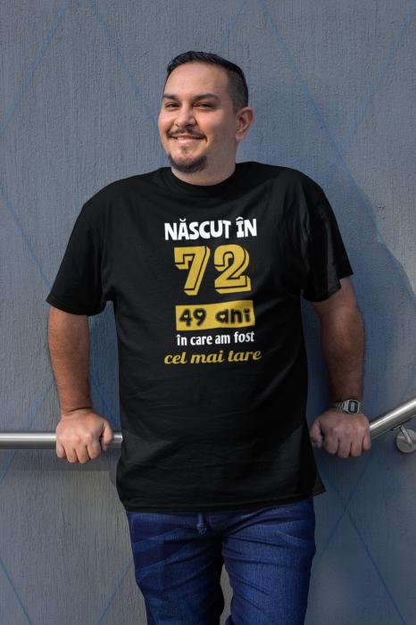 Tricou Personalizat cu mesaj - Nascut in ... 5