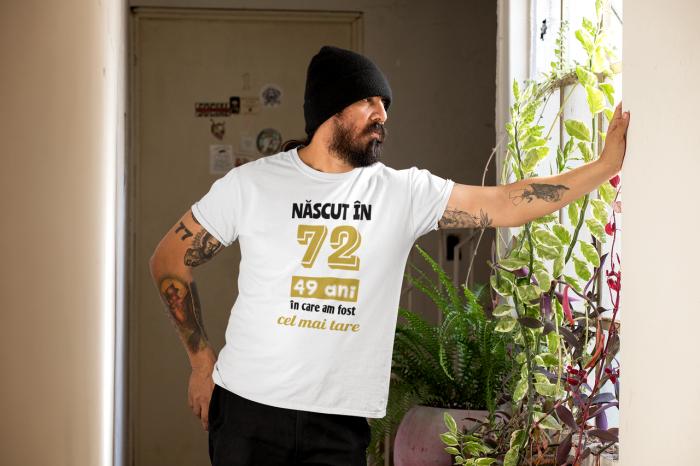 Tricou Personalizat cu mesaj - Nascut in ... 1