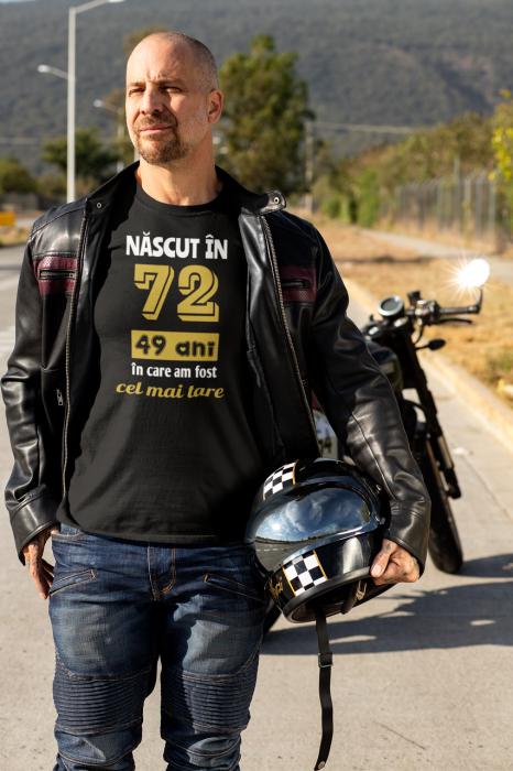 Tricou Personalizat cu mesaj - Nascut in ... 3