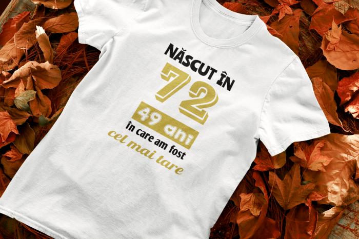 Tricou Personalizat cu mesaj - Nascut in ... 0