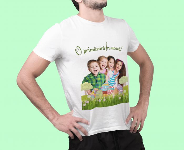 Tricou personalizat cu poza si mesaj - O primavara frumoasa [3]