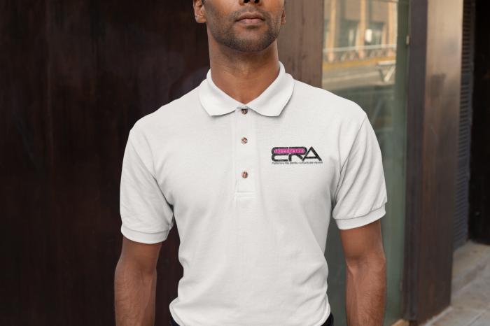 Tricou polo alb personalizat cu sigla pentru afacerea ta [0]