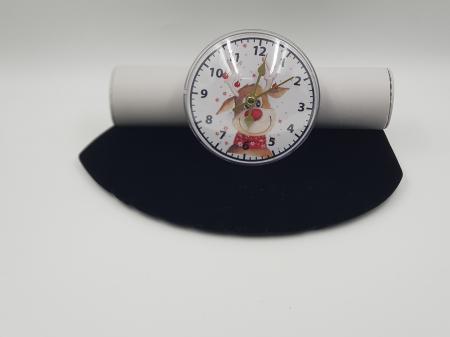 Ceas magnetic cu insertie foto - personalizat cu poza2