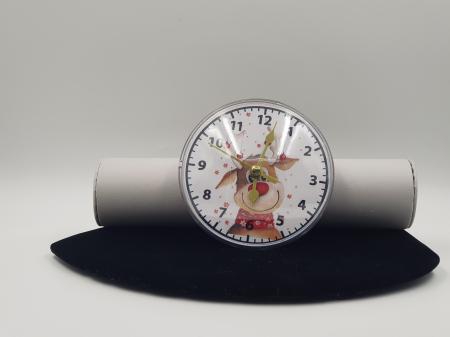 Ceas magnetic cu insertie foto - personalizat cu poza1