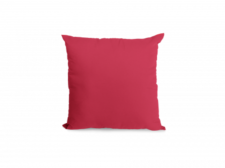 Perna patrata personalizata cu Rama inimioare si Poza - spate rosu5
