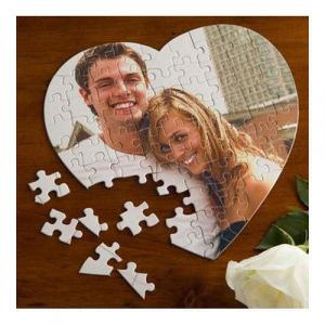 Puzzle inima personalizat cu poza si/sau mesaj2