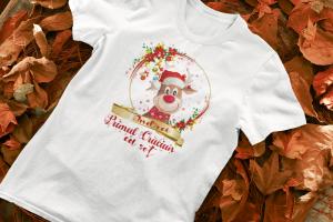 "Set tricouri familie ""Primul Craciun ca sot / sotie""2"