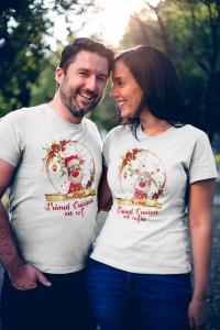 "Set tricouri familie ""Primul Craciun ca sot / sotie""0"