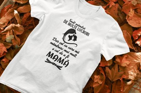 Tricou Personalizat - Sunt mândă că sunt mamă [0]