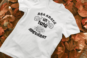Tricou Personalizat - Asa arata un tata adevarat0