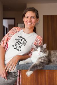 Tricou Personalizat - Asa arata o iubitoare de PISICI [2]
