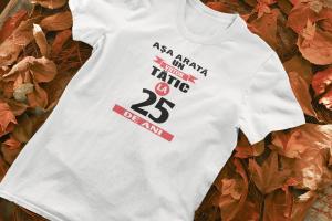 """Tricou personalizat cu mesajul """"Asa arata un viitor tatic""""0"""