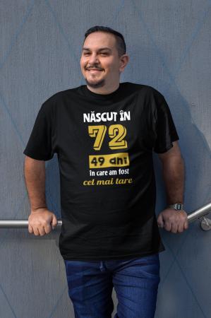 Tricou Personalizat cu mesaj - Nascut in ...5