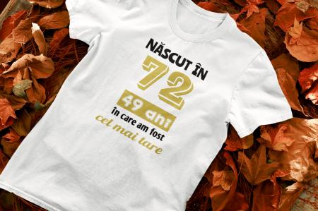Tricou Personalizat cu mesaj - Nascut in ...0