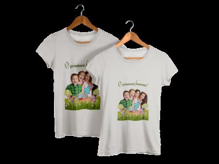Tricou personalizat cu poza si mesaj - O primavara frumoasa [7]