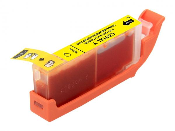 Cartus compatibil Canon CLI - 551XL Yellow (12 ml) 0