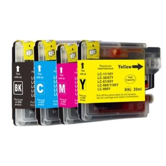 Bro LC1100/LC980 XL C ink 0