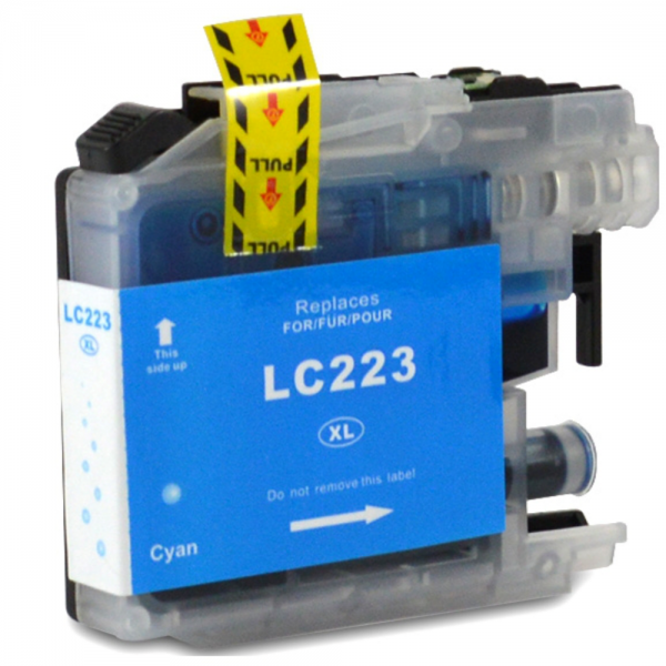 Cartus cerneala compatibil Brother LC223 XL - Cyan 0