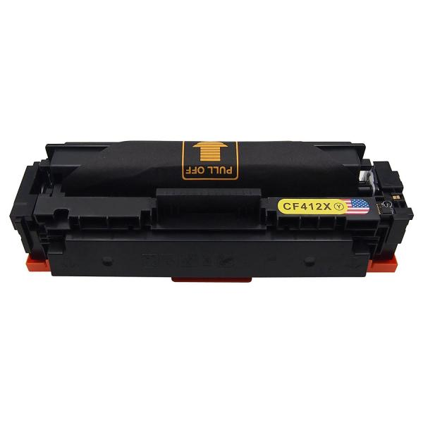 Cartus Toner  Compatibil  HP CF412X - Yellow 0