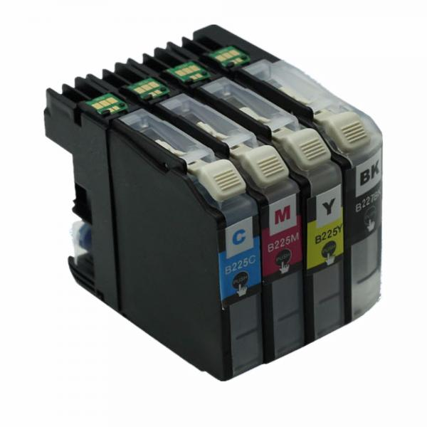 Set 4 Cartuse ERS Compatibile Brother LC227, LC225 XL (Black + Cyan + Magenta + Yellow) 0