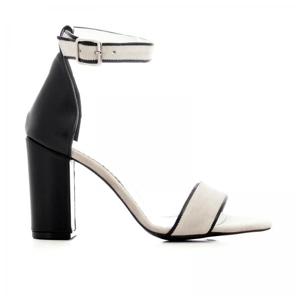 Sandale cu toc gros negru si bejÎnapoiÎnchideAnteriorulUrmătorul 0