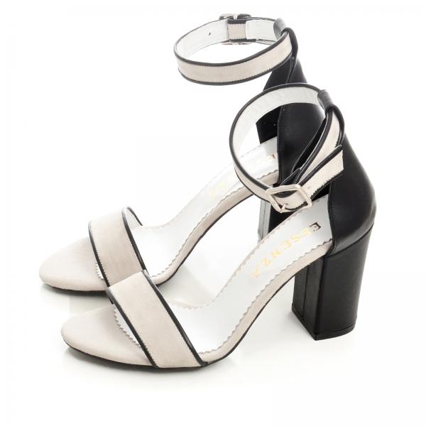Sandale cu toc gros negru si bejÎnapoiÎnchideAnteriorulUrmătorul 1