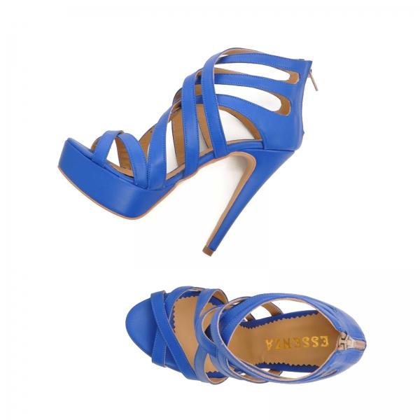 Sandale din piele albastra [3]